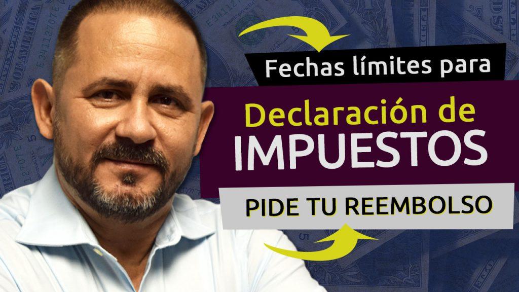 MINIATURA FECHA LIMITE PARA DECLARACION DE IMPUESTO